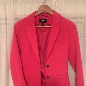 H&M pink blazer sz 4